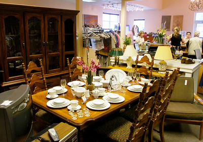Treasures Consignment Boutique and Thrift Shop at 60 West Ave. Ed Burke 4/30/09