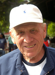 "Leon Blusiewicz of Baltimore, ""My favorite trainer is Leon Blusiewicz. My favorite jockey of all time is Eddie Arcaro. Present day jockey is Kent Desormeaux."