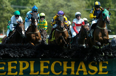 Steeplechase first race on Thursday at the Saratoga Race Course, on Thursday they announced that the Steeplechase Festival was canceled. Photo Erica Miller 8/30/12 news_Canceled1_Sat