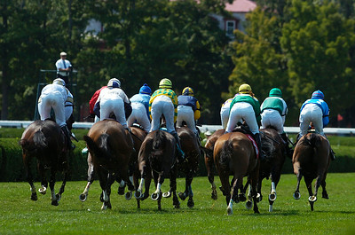 Steeplechase first race on Thursday at the Saratoga Race Course, on Thursday they announced that the Steeplechase Festival was canceled. Photo Erica Miller 8/30/12 news_Canceled3_Sat