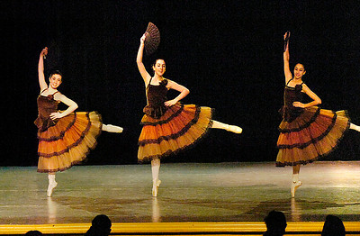 Members of the Saratoga City Ballet dance in the Nutcracker during a First Night performance at Saratoga City Music Hall. Ed Burke 12/31/09
