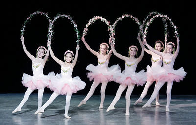 Members of the Saratoga City Ballet perform Act II of The Nutcracker at Saratoga Music Hall. Ed Burke 12/31/10