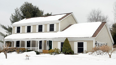This house at 3 Friar Tuck Way, Saratoga Springs, recently sold for $327,000. Photo Erica Miller 2/24/11 Transactions