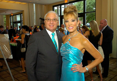 Satins, Silks and Stars co-chairs Ron and Michele Riggi. Ed Burke 7/26/12