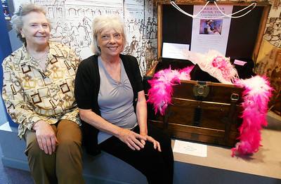 Rita McCauley and Kathy Totten. Photo By Paul Post.