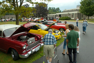 The first annual Car Cruise event was held Thursday at Maplewood Manor. Ed Burke 7/26/12