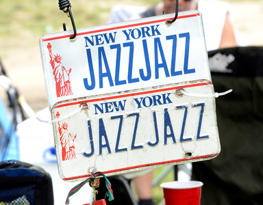 License to enjoy music on display Saturday at the jazz festival. Ed Burke 6/29/13