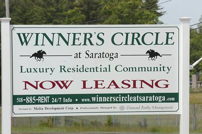 The Winner's Circle in Milton Tuesday afternoon. photo Rick Gargiulo news_winners2_wed 5/26/09