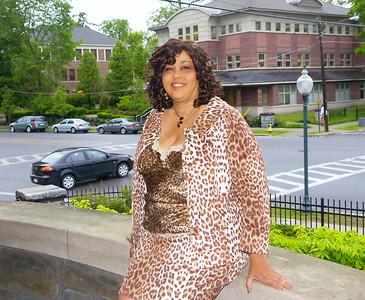 Alumnus and Cheetah Girls author Deborah Gregory at Empire State College. Ed Burke 5/28/09