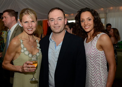 Among those attending the 3rd Annual Music, Models and Mingling fundraiser for the Senior Citizens Center of Saratoga Springs were, from left: Dr. Radana Dooley, Dr. Martin Ferrillo and Roslyn Zecchini. Ed Burke 5/30/13