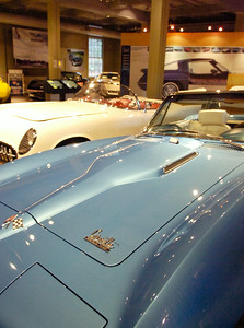 Some of the many Corvettes on display at the Saratoga Automobile Museum in the Spa State Park. Photo Erica Miller 11/30/09 news_Corvette2_Tues