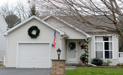 This house at 232 Meadowlark Drive, Milton, recently sold to Richard Rowland III for $230,000. Photo Erica Miller 11/28/11 bspa_232MeadowlardDr