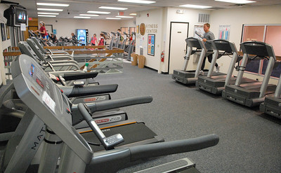 The Saratoga Regional YMCA Wilton Branch is expanding their buildings by adding a new tennis gym at the rear of their building and Phase II of another building to the north end. Photo Erica Miller 11/29/11