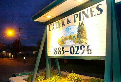 The Creek and Pines mobile home park on Middleline Rd. in Milton. Ed Burke 10/29/09