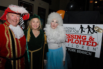 The Nation Center for Missing and Exploited Children held their Annual Halloween Masquerade Ball, Chairman Sam Palazzole, NCMEC/NY/CR Advisory Board with his wife Linda and Kristina Krawchuck at Saratoga National Golf Club. Photo Erica Miller 10/28/11 jj_NCMEC1