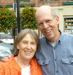 "David and Rae Whitehead of Ballston Spa, ""I don't think we've felt the pinch as much as a lot of people but we're more aware of the people around us that have.  We do realize we have to live more simply."""