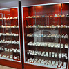Sarah Howard/North Adams Transcript<br /> <br /> The shelves are filled with colorful rocks and minerals in the new Berkshire Geological Treasures store at the Oasis Plaza in North Adams.