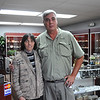Sarah Howard/North Adams Transcript<br /> <br /> Marci and Mark Brown are the owners of the new Berkshire Geological Treasures store that opened this Saturday at the Oasis plaza in North Adams. The store sells rocks, minerals, and bug themed items.