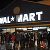 with meghan story<br /> Gillian Jones/North Adams Transcript<br /> People stand in front of Wal-mart in North Adams prior to it opening on Friday morning at 5 a.m. for Black Friday.