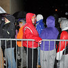 with meghan story<br /> Gillian Jones/North Adams Transcript<br /> Hundreds of people wait in line outside Wal-mart in North Adams on Friday morning at 5 a.m. for Black Friday.