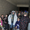with meghan story<br /> Gillian Jones/North Adams Transcript<br /> Hundreds of people wait in line outside Wal-mart in North Adams on Friday morning prior to the store opening at 5 a.m. for Black Friday. These folks were in the front of the line, some of them waiting over 12 hours.
