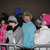 with meghan story<br /> Gillian Jones/North Adams Transcript<br /> Jessica Huffstater, Sue Young and Tina Huffstater wait close to the beginning of the line for Black Friday.