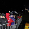 with meghan story<br /> Gillian Jones/North Adams Transcript<br /> Joey Beverly instructs hundreds of shoppers on how to proceed as they wait in line outside Wal-mart in North Adams on Friday morning prior to opening at 5 a.m. for Black Friday.