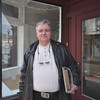 with story<br /> Gillian Jones/North Adams Transcript<br /> Daryl English in front of his new storefront on 45 Eagle Street in North Adams.
