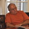 with Phil story<br /> Gillian Jones/North Adams Transcript<br /> Adams selectman George Haddad listens during an Adams Community Development Advisory Committee meeting on the Greylock Glen project on Thursday.
