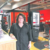 Jennifer Huberdeau/North Adams Transcript<br /> Kim Oakes, owner of Shear Maddness Salon, recently expanded her business into the former Moulton's General Store on Main Street.