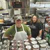 with Meghan story<br /> Gillian Jones/North Adams Transcript<br /> Paul Kozik and Joanne Sebastino have opened Nonnie's Country Store on North Hoosac Road in Williamstown.