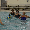 with Jen story<br /> Gillian Jones/North Adams Transcript<br /> Women participate in a water aerobics class with Sally Gould at the Northern Berkshire YMCA.