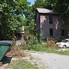 with Jen story<br /> Gillian Jones/North Adams Transcript<br /> This property behind 160 Eagle Street in North Adams has been deemed a public nuisance.