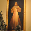 with Jen story<br /> Gillian Jones/North Adams Transcript<br /> The painting of the divine mercy.