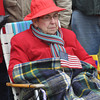 with Jen story<br /> Gillian Jones/North Adams Transcript<br /> Betty Mahar joined dozens of people at the Veteran's Memorial in North Adams for Veteran's Day exercises on Friday.