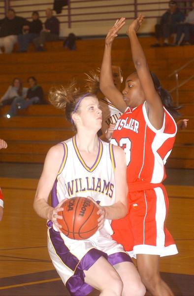 Williams womens b-ball vs. RPI