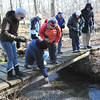 Sarah Howard/ Transcript Intern <br /> <br /> Sunday February 5, at Field Farm in Williamstown, locals go on a nature hike to learn more about the hidden splendors of the area.