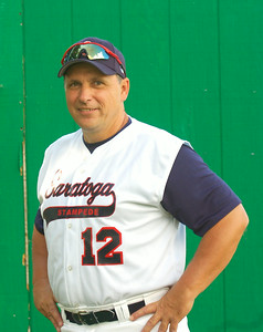 Coach Paul Mound of Saratoga Stampede. Ed Burke 6/24/09