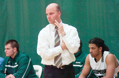 Skidmore College mens basketball coach Joe Burke. Ed Burke 11/29/10