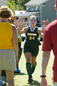 Christine Kemp of Skidmore college field hockey. Photo Erica Miller 9/6/09 spt_Kemp1_up
