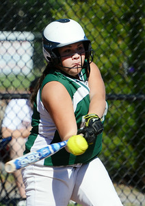 Greenwich's Kali Nolan up to bat during their softball regional game against Ticonderoga. Photo Erica Miller 6/3/13 spt_Softball3_Tues
