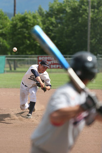 Erik Fraser/The Times-Standard The Del Norte Grizzlies against the Southern Humboldt 76ers during the American Legion District 1 Tournament at Newburg Park in Fortuna on Friday, July 21, 2007.