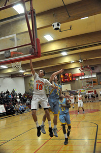José Quezada/For the Times-Standard  Go ahead bucket by 10 ARC to make it 66-64 in overtime