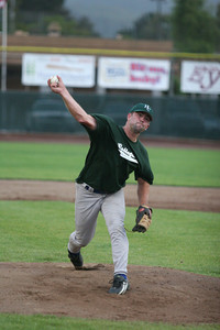 Erik Fraser/The Times-Standard The Humboldt Crabs against the Humboldt Collegians during the Bragging Rights Tournament at the Arcata Ball Park on Saturday, July 21, 2007.
