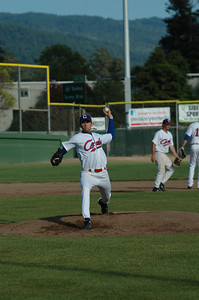 Rebecca Elston/The Times-Standard  during the first game of a doubleheader with the Sonoma County Seals on Wednesday