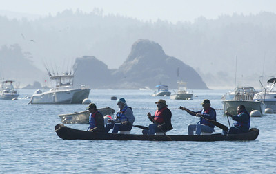 yurok dugout canoe