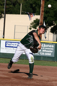 Erik Fraser/The Times-Standard Redwood Empire's Zach Stone started the game against Eel River in the Little League 11-12-year-old All-Stars at Fortuna's Rohner Park on Thursday, July 12, 2007.