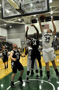 JosŽ Quezada/For the Times-Standard  34 HSU offensive rebound