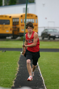 Josh Jackson/The Times-Standard  during Friday's track meet at Fortuna High School.
