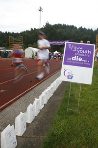 Josh Jackson/The Times-Standard  The 2007 Relay for Life at College of the Redwoods on Friday.